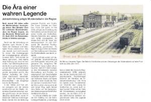 Artikel aus LVZ vom 18.04.2015 (Beiblatt zur 750 Jahrfeier der Stadt Colditz)